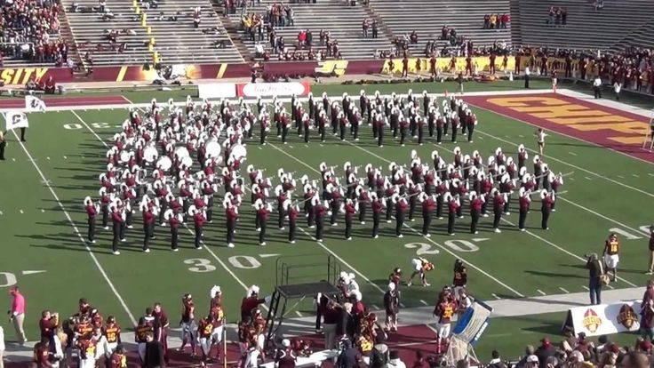 "CMU Marching Band Playing...""The Central Michigan Fight Song"" 10/20/2012"