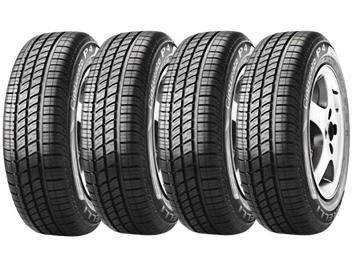 Conjunto de Pneus Pirelli Aro 14 175/65R14 - Cinturato P4 - 4 Peças