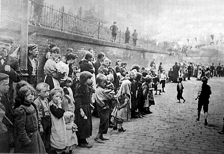 Assembly of Paupers at the ragged school, Angel Meadows, Manchester