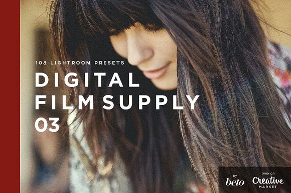 Digital Film Supply 03 - LR Presets by beto on @Graphicsauthor