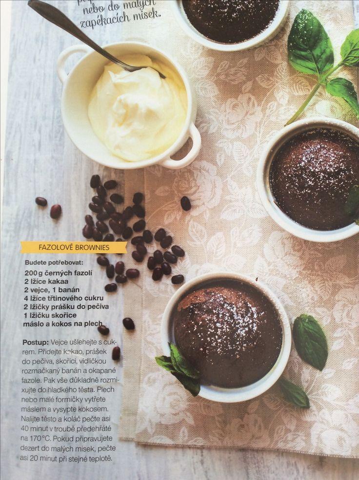 Fazolové brownies bez mouky - prozatím nejlepší