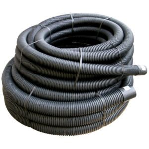 FloPlast Land Drainage Flexible Coil Pipe Floplast Land Drainage Flexible Coil Pipe (Dia)80mm Black.This black PVC flexible coil pipe from FloPlast is ideal for carrying waste safely and cleanly away from your home. (Barcode EAN=5055149925689 http://www.MightGet.com/april-2017-1/floplast-land-drainage-flexible-coil-pipe.asp