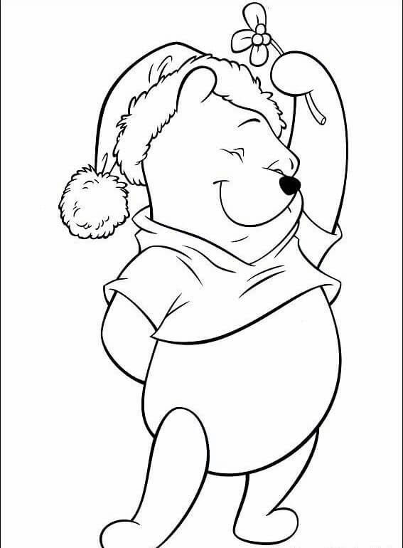 malvorlagen disney weihnachten  nalle puh  malvorlagen