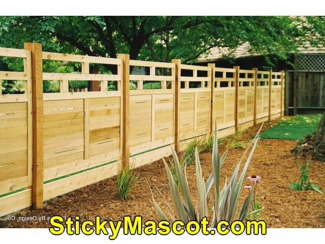 Nice Fence Retaining Wall Ideas Contemporary - Wall Art Design ...