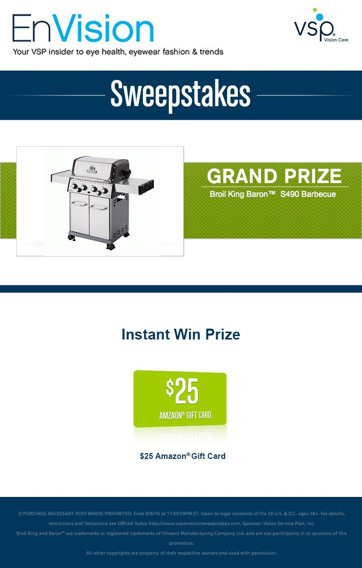 Instant win sweepstakes advantage universal