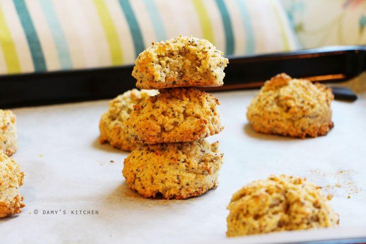 Damy's Kitchen: Glutensiz Chia'lı Kurabiye ve Bi' Küçük Merhaba / Gluten-Free Chia Cookies and A Little Hello