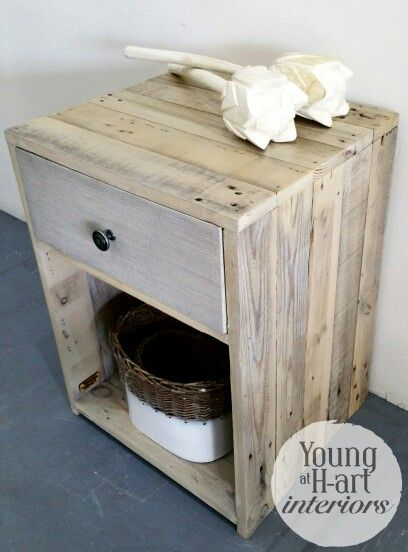Mareli Side Table, Techniqued in greys. Hand Crafted locally in JHB, South Africa. www.youngath-art.com