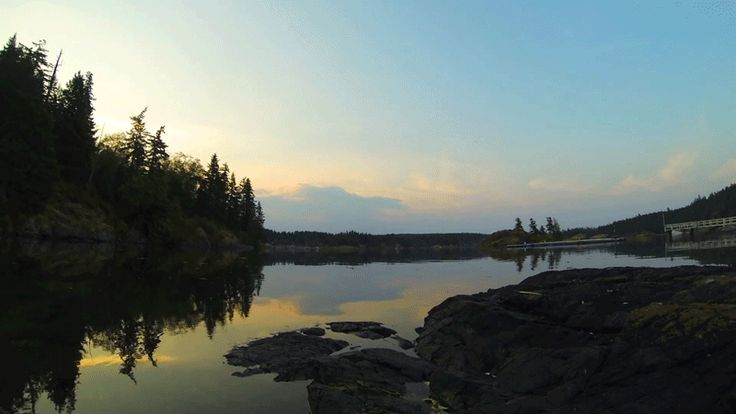 animation photo river