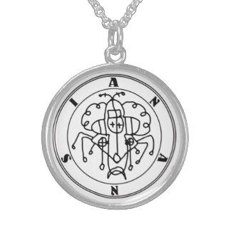ANANSI Ritual Talisman Sterling Silver Necklaces