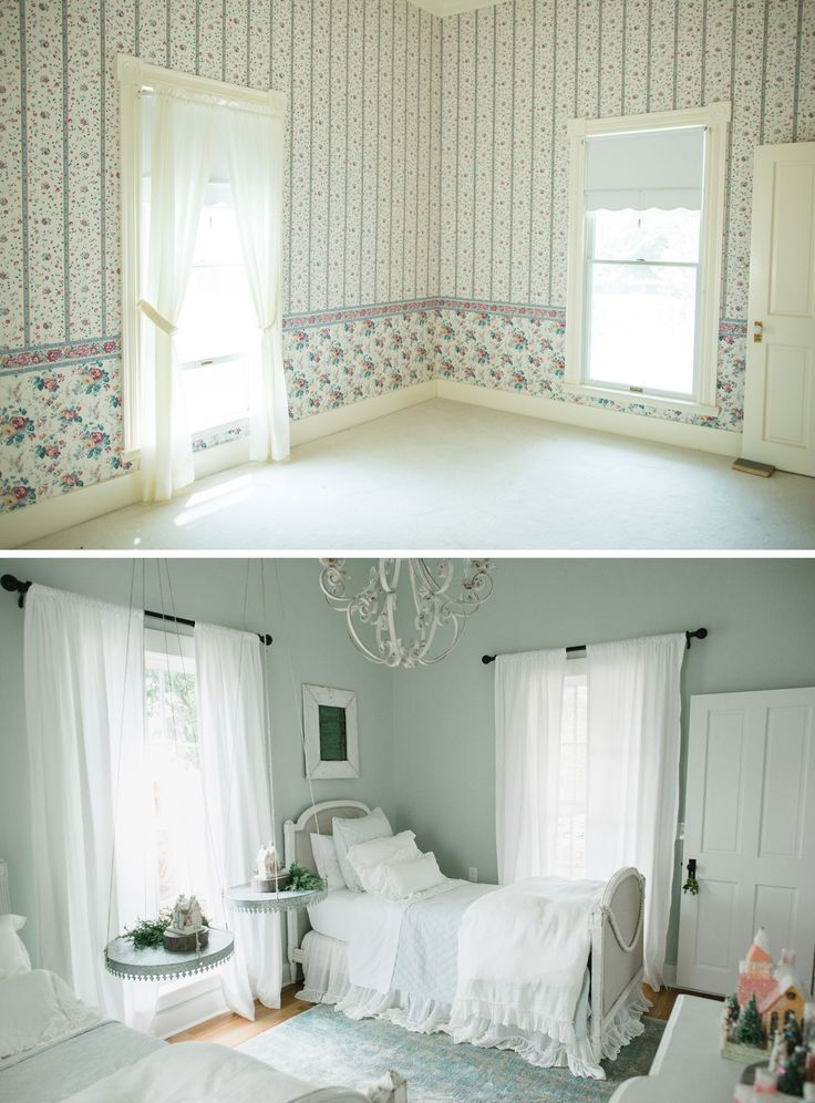 Before After Magnolia 39 S Twin Bedroom Joanna Gaines