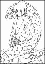 Coloring book. ColouringSasuke Uchiha12