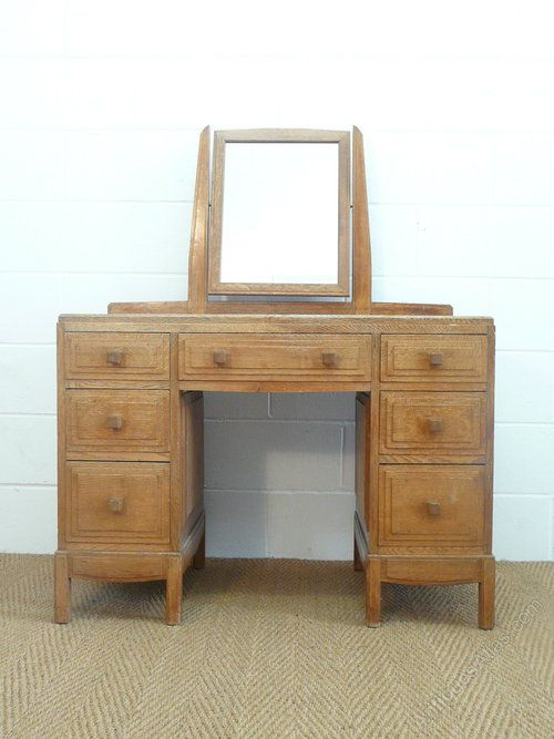 Cotswold Style Brynmawr Furniture Dressing Table   Antiques Atlas