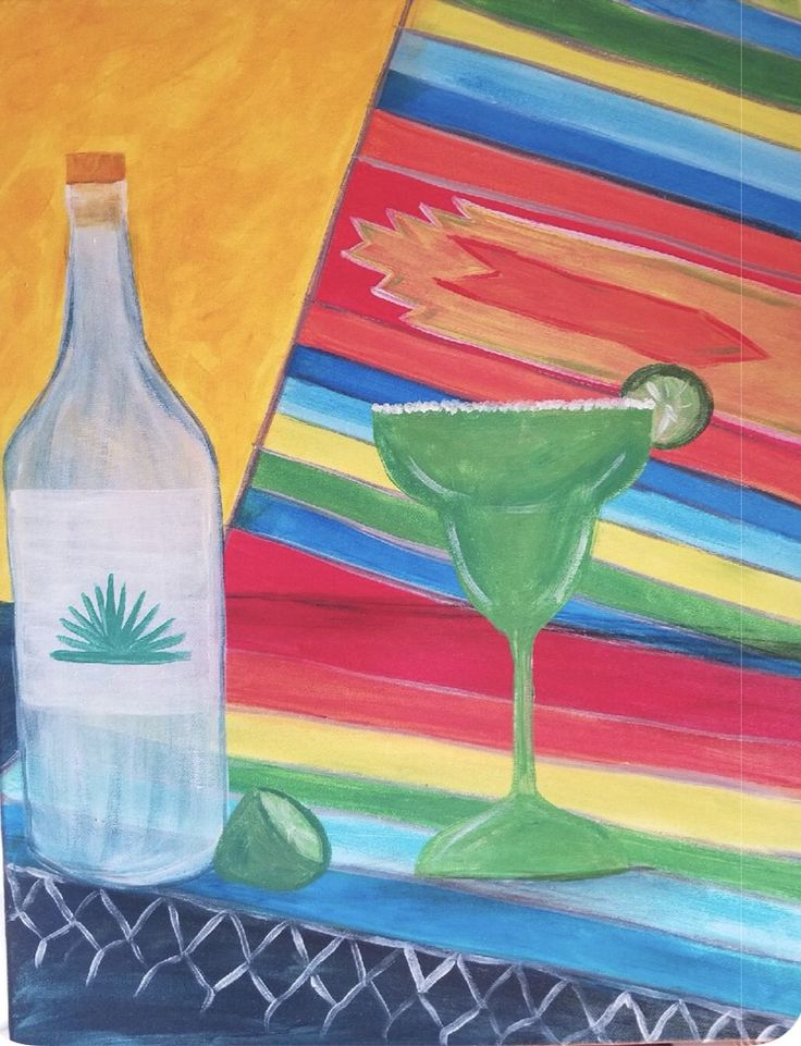 """""""Tequila Nights in Philly"""" Artist: Danielle DiTaranto"""