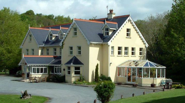 The exterior of the 3* Gleann Fia Country House, Co. Kerry