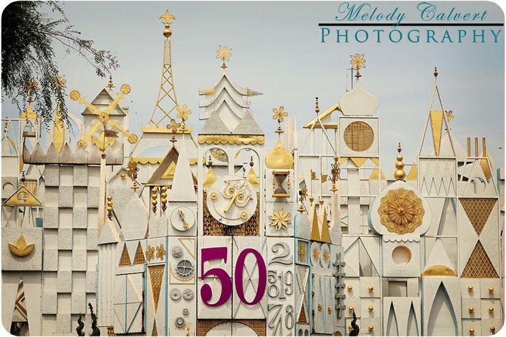 It's A Small World 50th Anniversary Celebration, Fantasyland, Disneyland, The Disneyland Resort, Anaheim, CA