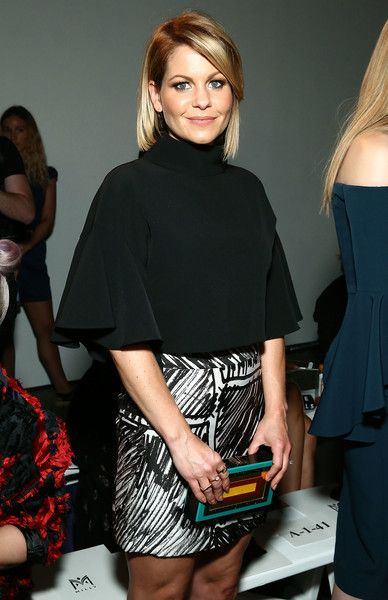 Candace Cameron Bure Photos Photos - TV personality Candace Cameron Bure attends Front Row at Milly - September 2016 - New York Fashion Week at Art Beam on September 9, 2016 in New York City. - Milly - Front Row - September 2016 - New York Fashion Week