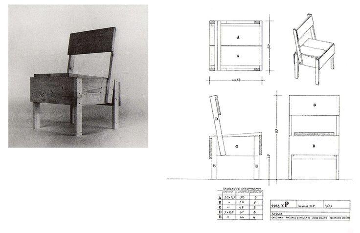 Autoprogettazione escrito por el diseñador italiano Enzo Mari, busca entregar a la gente muebles baratos de alta calidad, larga duración y de fácil fabricación.