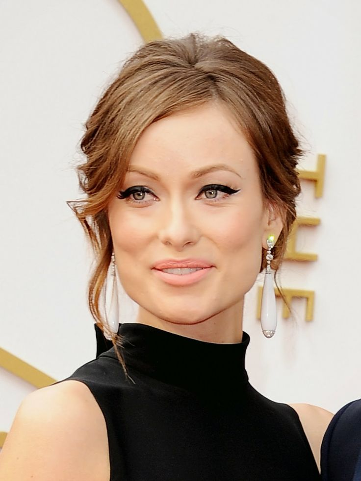 My favorite makeup look from the Oscars 2014 : Olivia Wilde's extreme black winged liner! #Oscarmakeup #OliviaWilde #dramaticeye