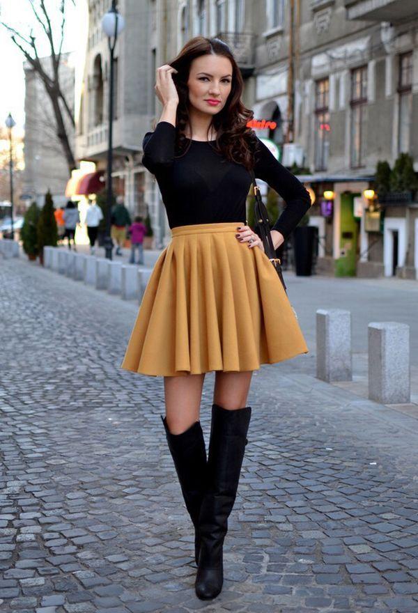 Faldas cortas de moda - Colección 2016