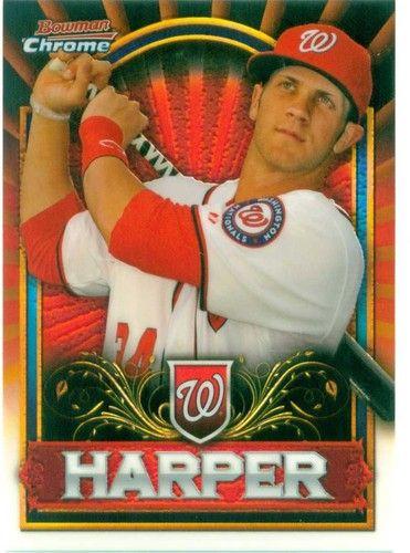 Very nice retail exclusive Bryce Harper rookie card.