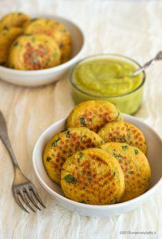 Crocchette di patate, carote e spinaci on http://www.unavnelpiatto.it