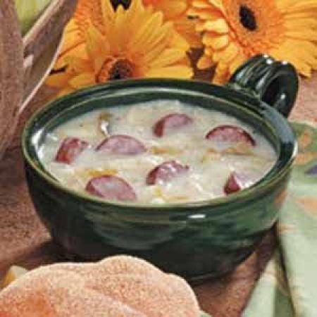 German Sausage Soup Recipe                                                                                                                                                                                 More