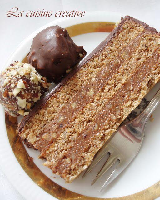 La Cuisine creative: Truffel cake