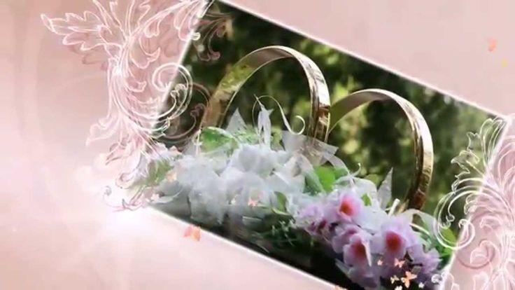 Красивое свадебное слайд-шоу из фотографий. Beautiful wedding slideshow