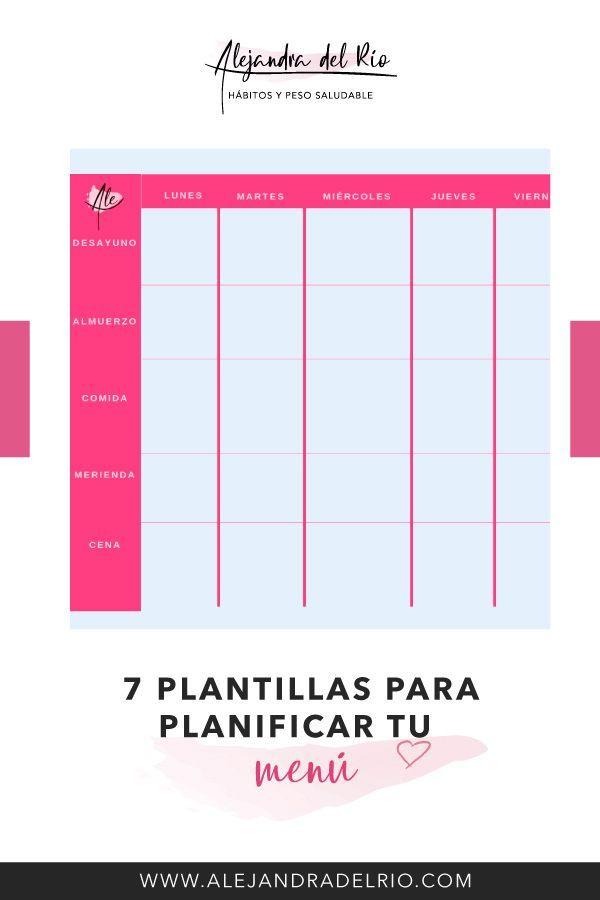 app planificar comidas espanol
