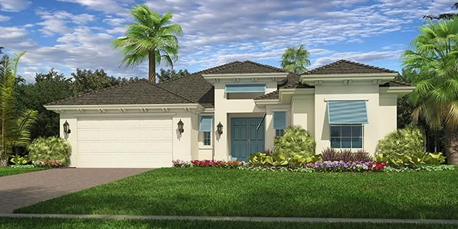 Jasmine Model - 2 bedroom 2 bath new home in Vero Beach, Florida - Lily's Cay - GHO Homes