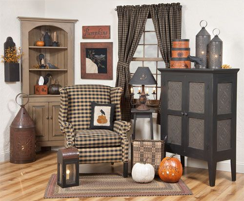 7 best primitive room settings from our catalogs images on for Country style catalogs