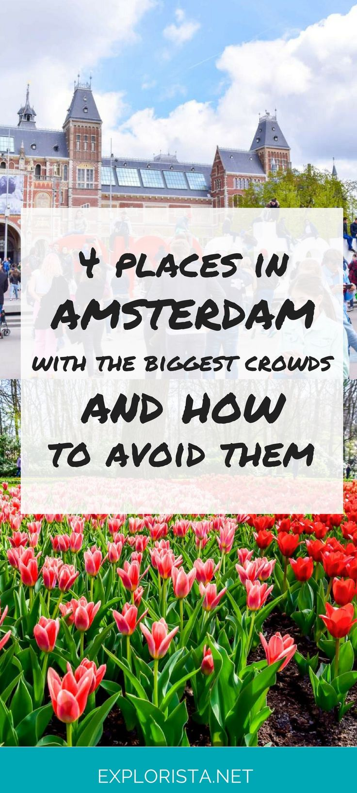 Amsterdam is one of the most popular cities to visit in Europe! This means its biggest attractions can get crowded and the lines very long. Here are some tips on avoiding the lines, so you don't have to wait forever to see your favorite places!