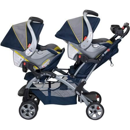 Baby Trend - Sit N Stand Double Stroller, Riviera - Walmart.com