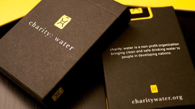 100% of the proceeds from each deck purchased at theory11 will go directly to charity: water. Join us. Support charity: water.