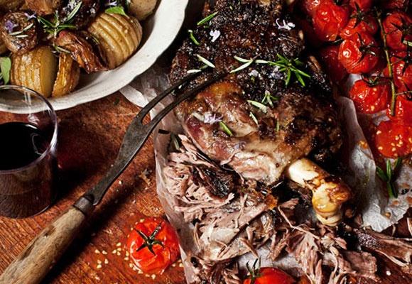 Slow-roasted greek lamb | Lamb | Pinterest
