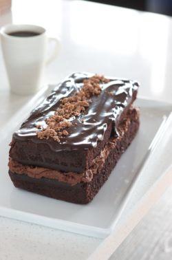 Jenna's Chockie Bikkie Cake