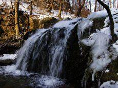 Dolina Będkowska wodospad