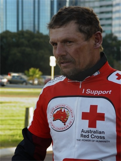 Ride around Australia for the Red Cross
