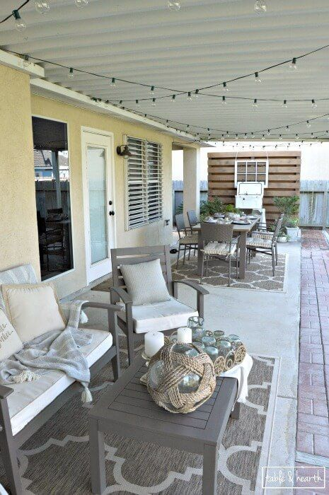 1000 ideas about patio set up on pinterest patio sets Relaxed backyard deck ideas