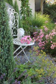 Landidylle: Offene Gartenpforte