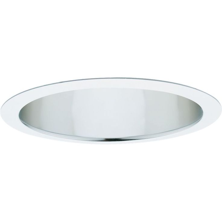 "Progress Lighting P8121-LED-3500K 8"" Pro-Optic LED Recessed Trim - Reflector - 3 Clear Alzak Recessed Lights Recessed Trims Reflector"