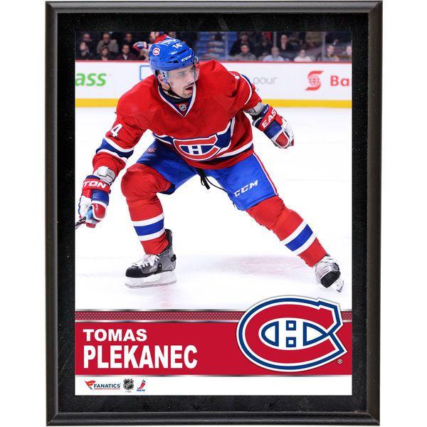 "Tomas Plekanec Montreal Canadiens Fanatics Authentic 10.5"" x 13"" Sublimated Plaque - $29.99"