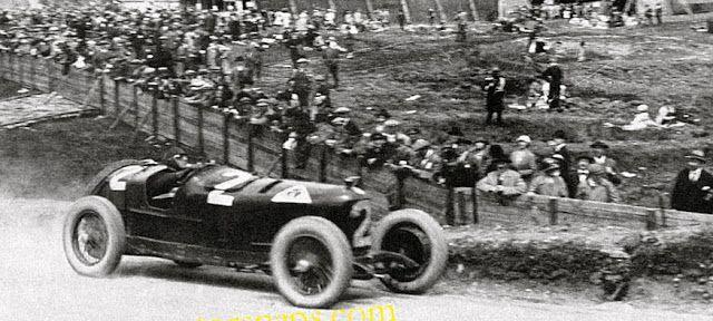 Gp F1 1925 Antonio Ascari Alfa Romeo P2 Formule 1