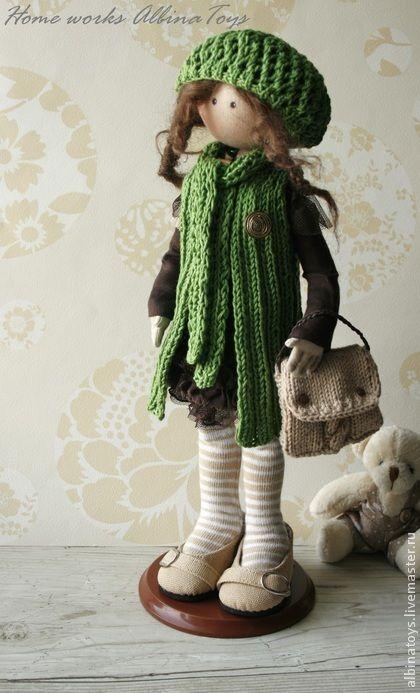 Muñecas hechas a mano de colección.  Masters Feria - Mate artesanal .. hecho a mano.