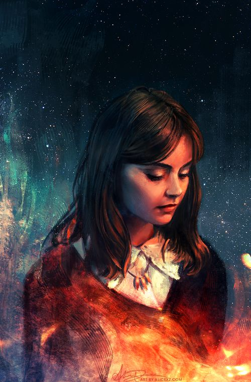 love the colors. Clara is the best companion don´t you think?