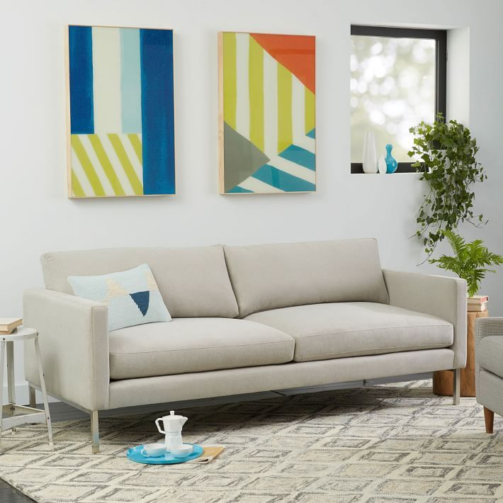 Soften Up The High Line Sofa Comes In A Range Of