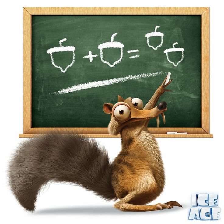 Scrat is one nutty professor. | Ice age movies, Ice age