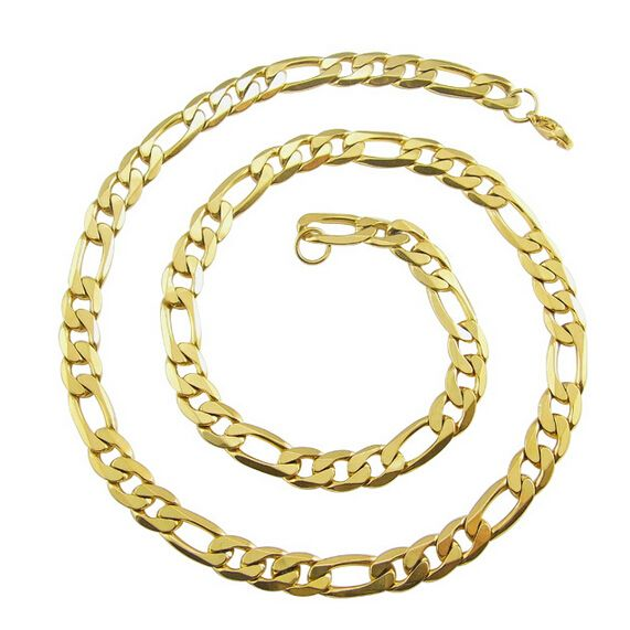 Find More Chain Necklaces Information about Fashion Women Man Gold Chain Necklace 18k Gold Stainless Steel Pendant Necklace Fashion Stainless Steel Jewelry ,High Quality jewelry tray,China jewelry necklace stand Suppliers, Cheap jewelry box necklace from NIBA Jewelry  on Aliexpress.com