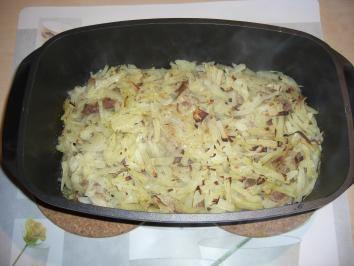 Thüringer Schichtkraut *Weißkraut *Hackfleischgerichte - Rezept