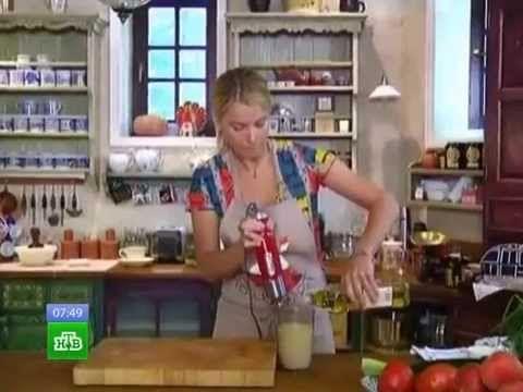 Завтрак с Юлией Высоцкой - Тыквенный пирог с имбирем и корицей - YouTube